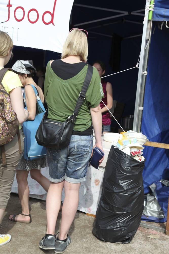 Ruokakoju Maailma kylässä -tapahtumassa