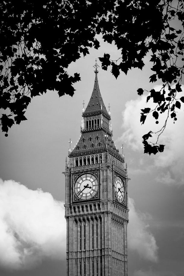Perinteistä ajannäyttöä: Big Ben.