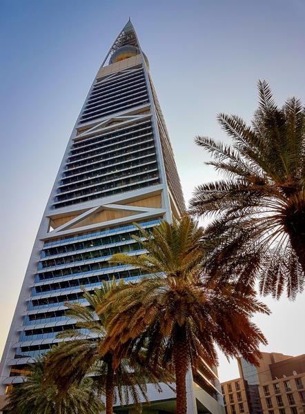 Hotelli Riadissa.